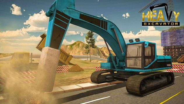 Heavy Excavator Simulator - City Construction