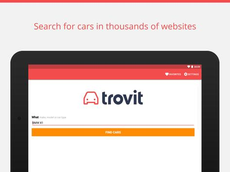 Used cars for sale - Trovit ScreenShot2