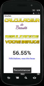 Calculateur de beaut