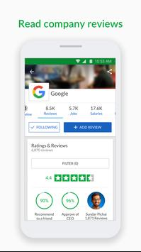 Glassdoor Job Search, Salaries and Reviews ScreenShot2