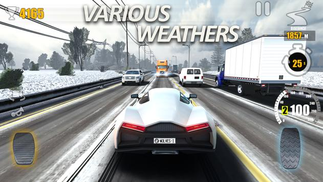 Racing Traffic Tour  multiplayer car racing ScreenShot2