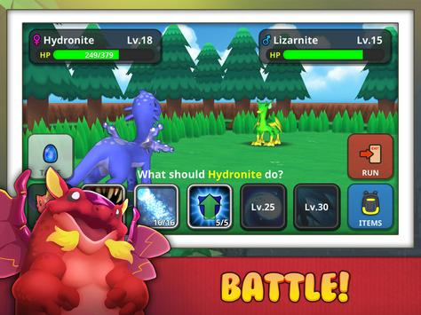 Drakomon  Battle and Catch Dragon Monster RPG Game ScreenShot2
