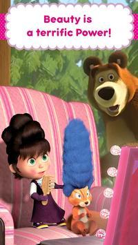 Masha and the Bear: Hair Salon and MakeUp Games ScreenShot2