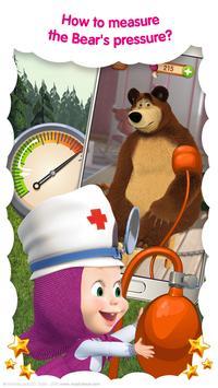 Masha and the Bear: Free Animal Games for ids ScreenShot2