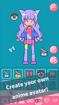 Cute Girl Avatar Maker  Cute Avatar Creator Game ScreenShot2