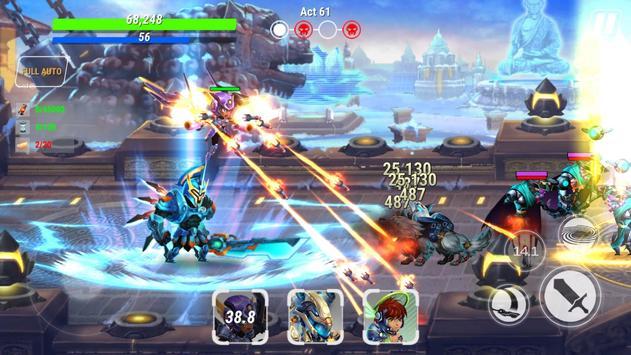 Heroes Infinity: Blade and night Online Offline RPG ScreenShot2