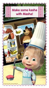 Masha and Bear: Cooking Dash ScreenShot2