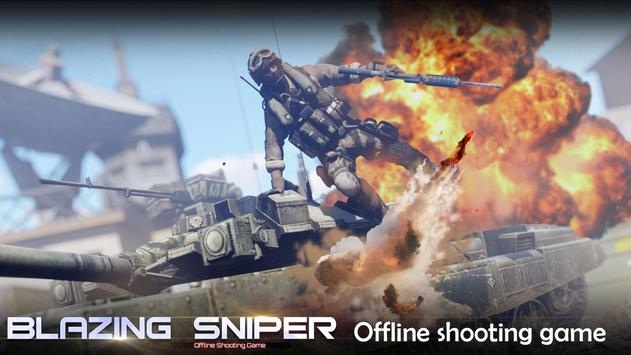 Blazing Sniper  offline shooting game ScreenShot2