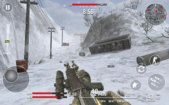 Rules of Modern World War Winter FPS Shooting Game ScreenShot2