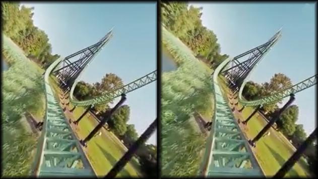 VR Thrills: Roller Coaster 360 (Google Cardboard) ScreenShot2
