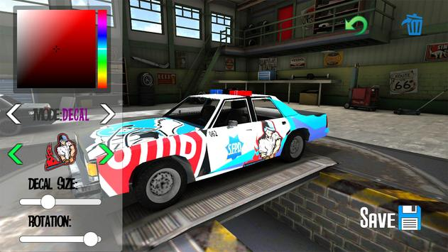 Police Car Drift Simulator ScreenShot2