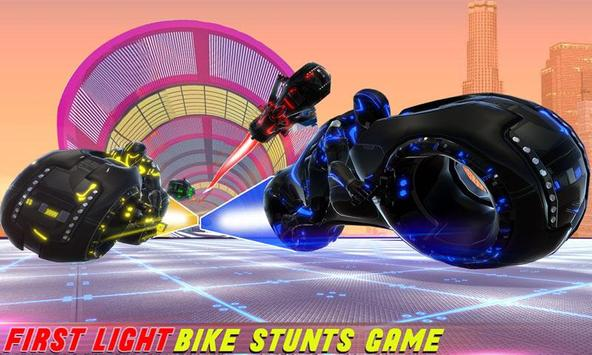 Tron Bike Stunt Racing 3d Stunt Bike Racing Games ScreenShot2
