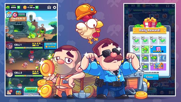 Idle Prison Tycoon: Gold Miner Clicker Game ScreenShot2