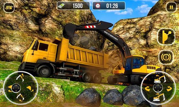 Heavy Excavator Crane  City Construction Sim 2017 ScreenShot2
