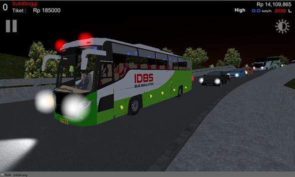 IDBS Simulator Bus Lintas Sumatera ScreenShot2