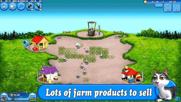 Farm Frenzy Free: Time management game ScreenShot2