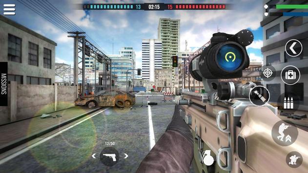 Country War : Battleground Survival Shooting Games ScreenShot2