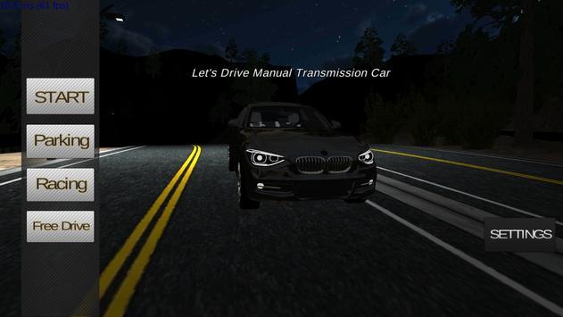 Manual Car Driving ScreenShot2