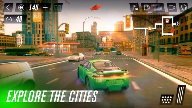 Driving Car Simulator ScreenShot2