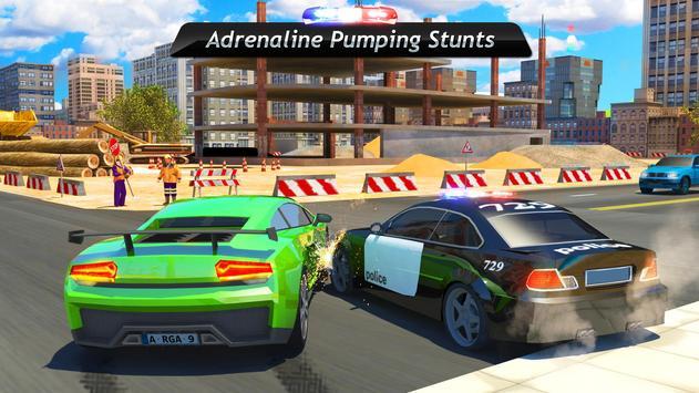 Police Car Driving  Crime Simulator ScreenShot2