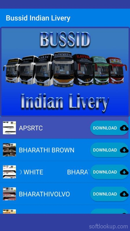 Bussid Indian Livery ScreenShot2
