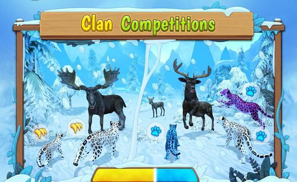 Snow Leopard Family Sim Online ScreenShot2