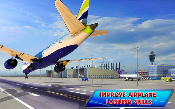 Aeroplane Games: City Pilot Flight ScreenShot2