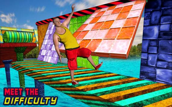 Water Park Games: Stunt Man Run 2018 ScreenShot2
