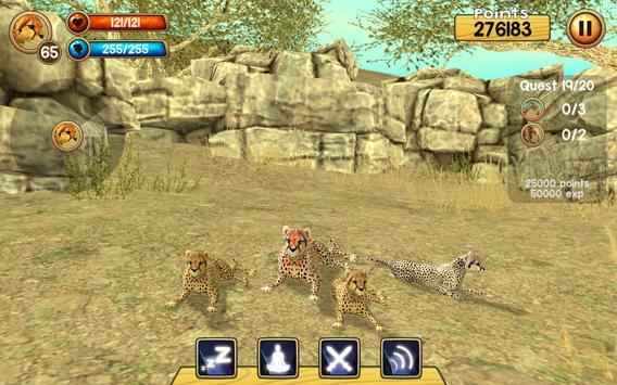 Wild Cheetah Sim 3D ScreenShot2