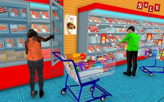 Supermarket Grocery Shopping Mall Family Game ScreenShot2