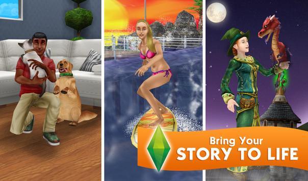 The Sims FreePlay ScreenShot2