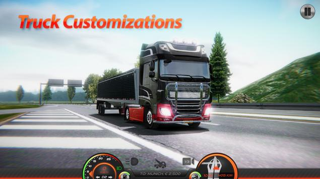 Truck Simulator : Europe 2 ScreenShot2