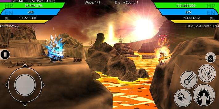 The Final Power Level Warrior (RPG) ScreenShot2