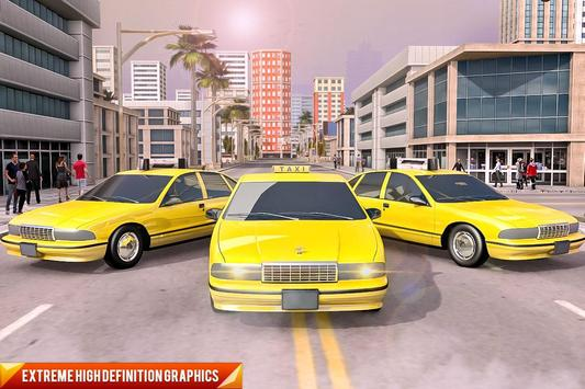 Drive Mountain City Taxi Car: Hill Taxi Car Games ScreenShot2