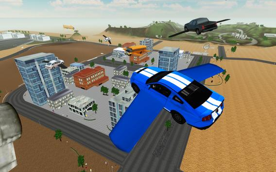 Flying Car Driving Simulator ScreenShot2