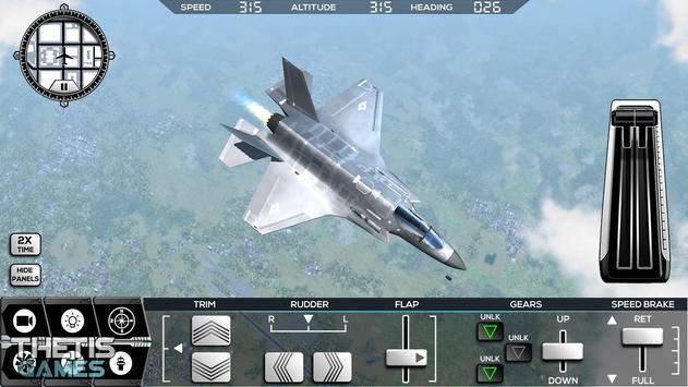 Flight Simulator 2017 FlyWings Free ScreenShot2