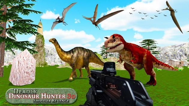 Deadly Dinosaur Hunter Revenge Fps Shooter Game 3D ScreenShot2