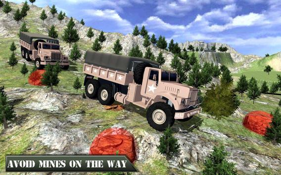 US Army Offroad Truck Driver 3D ScreenShot2