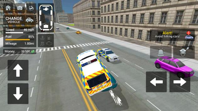 Police Car Driving  Motorbike Riding ScreenShot2