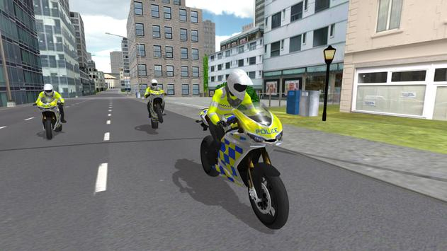 Police Motorbike Simulator 3D ScreenShot2