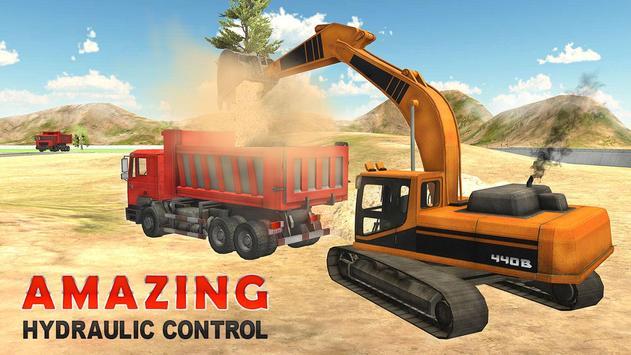 Heavy Excavator Simulator PRO ScreenShot2