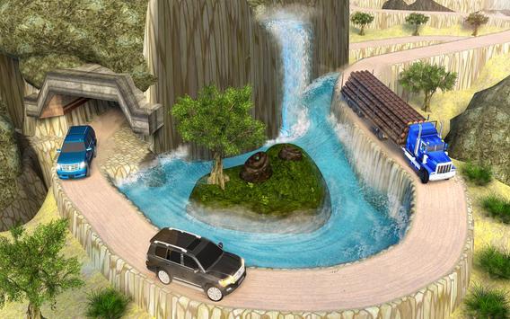 Real  Offroad Prado Driving Games: Mountain Climb ScreenShot2