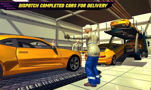 Car Maker Auto Mechanic Sports Car Builder Games ScreenShot2