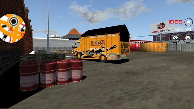 IDBS Indonesia Truck Simulator ScreenShot2