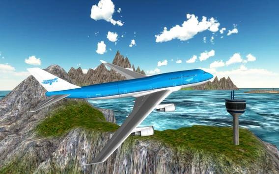 Flight Simulator: Fly Plane 3D ScreenShot2