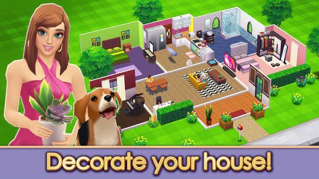 Home Street  Home Design Game ScreenShot2