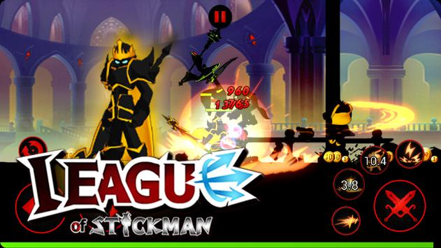 League of Stickman Free Shadow legends(Dreamsky) ScreenShot2