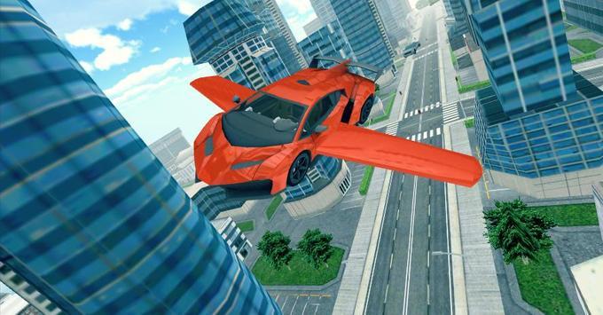 Flying Car 3D ScreenShot2