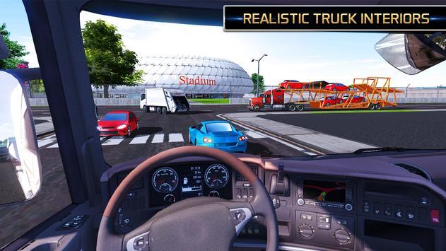 Euro Truck Driving Simulator 2018 ScreenShot2