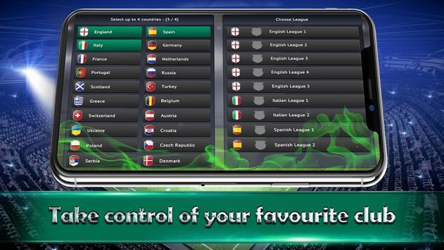 Soccer Manager 2019  SE ScreenShot2